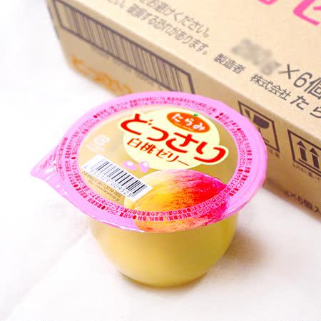 【鮮果日誌】大人氣-日本鮮果果凍 どっさり - 白桃舞凍