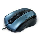E-books M10 藍翼 1200dpi 光學滑鼠 (寶藍色)