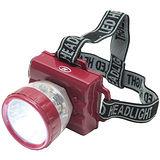 頭戴式1W+4LED超白光高亮度頭燈工作燈(NM-2376)