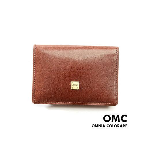 OMC ~ 韓國原皮魅力真皮款簡約式名片夾