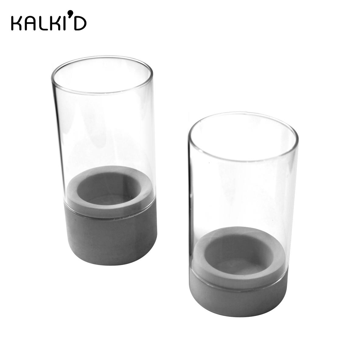 【KALKI D】親水泥 城市燭杯