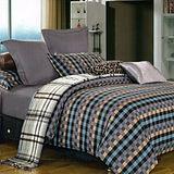 《菲拉格慕》雙人加大四件式舖棉兩用被床包組
