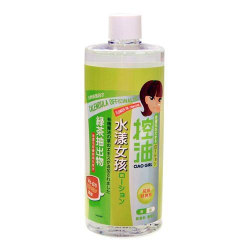 水漾女孩 金盞花舒緩控油化妝水(500ml)-2入
