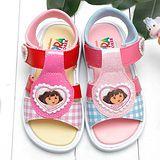 【童鞋城堡】朵拉愛心造型女童涼鞋{台灣製造}DR3058