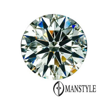 MANSTYLE-GIA 0.61ct F-VVS2 八心八箭裸鑽
