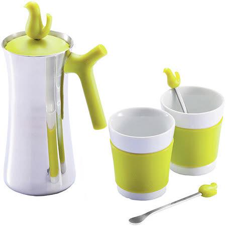 《XDDESIGN》小鳥咖啡壺+瓷杯組