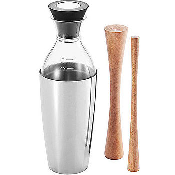 《XDDESIGN》調酒量杯+木搗棒