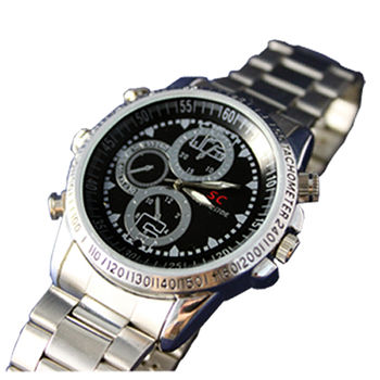 【雙易錄H207】超偽裝全方位多功能時尚錄音錄影腕錶 4GB