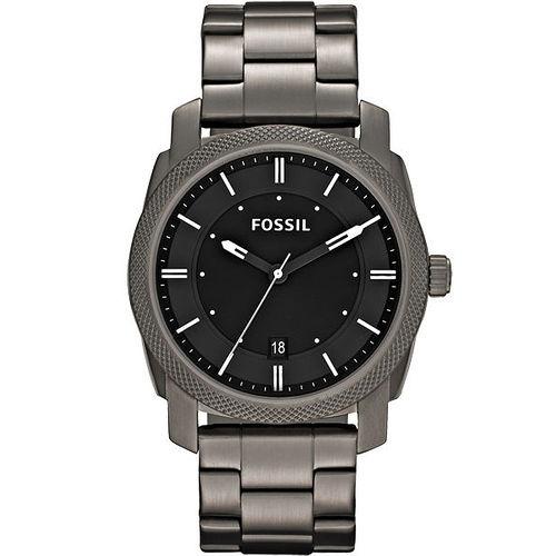 FOSSIL 爵士都會 腕錶~槍灰色 FS4774