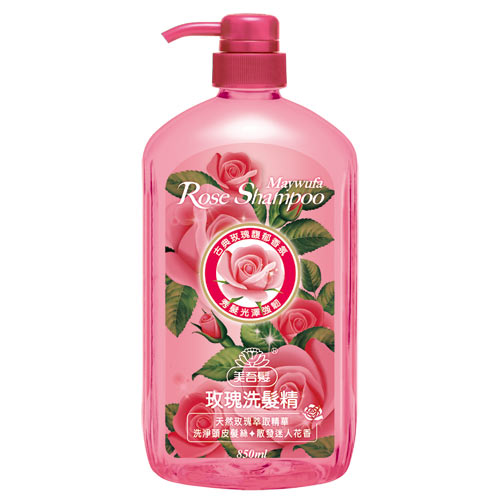美吾髮玫瑰洗髮精850ml