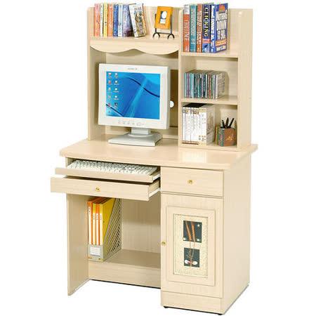 Homelike 自然風味電腦書桌(上下座/二色)