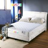 老師傅工藝《ESSE》御璽名床【精緻手工】二線獨立筒床墊6x6.2尺 -雙人加大