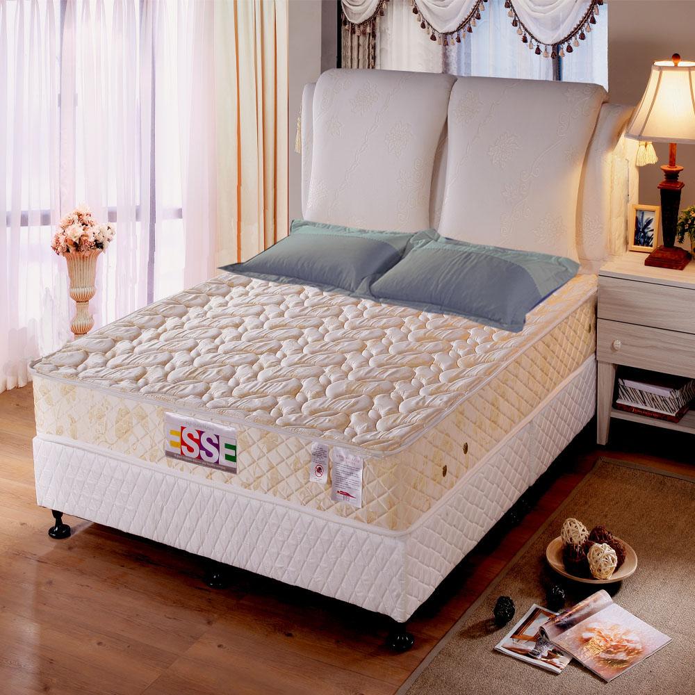 老師傅工藝《ESSE》御璽名床【記憶膠棉】二線獨立筒床墊6x6.2尺-雙人加大
