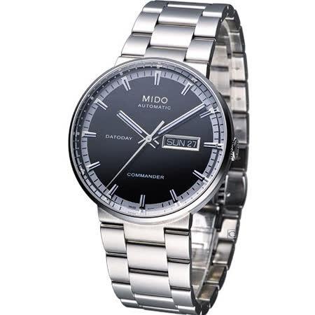 MIDO Commander II 香榭系列機械腕錶M0144301105100黑色