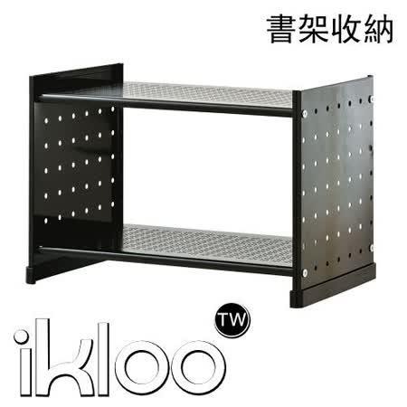 KLOO貴族風組合式書架(黑)-99682