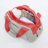 《TOMA.TOMA》防水多口袋空氣包附功能袋組(淺灰)