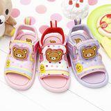 【童鞋城堡】Rilakkuma拉拉熊點點LED電燈涼鞋KM3914