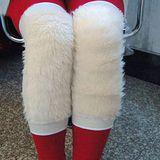 【PS Mall】仿羊毛保暖護膝 冬天愛保暖 短羊毛護膝 護膝(J584)