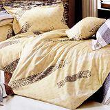 【精靈工廠】流星雨雙人四件式純棉涼被床包組