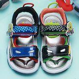 【童鞋城堡】海綿寶寶亮麗造型涼鞋{台灣製造}SG3380