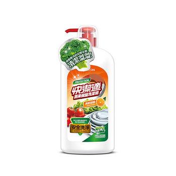快潔適蔬果碗盤洗潔精-天然甜橙1000gm