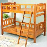 《BuyJM》尼爾3.5呎實木雙層床