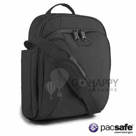 Pacsafe 8L METROSAFE250GII防盜側背包(黑色)