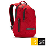 美國Case Logic 雙肩後背14吋電腦包-紅色(DLBP-114)