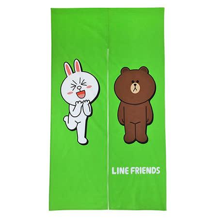 【享夢城堡】LINE FRIENDS 我愛熊大門簾