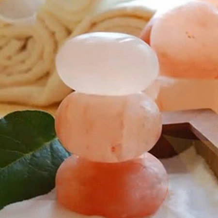 【Naluxe】玫瑰鹽SPA按摩石3入組