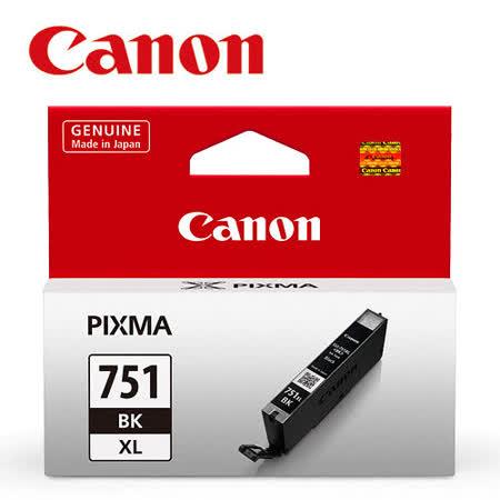 CANON CLI-751XL-BK 原廠相片黑高容量XL墨水匣