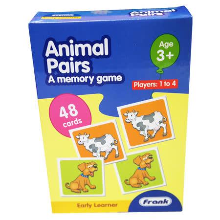 【Frank】Frank 全腦開發 EARLY LEARNER 小小學習者系列-動物成對