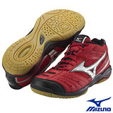 Mizuno WAVE GATE SMU 羽球鞋 7KM-34262(紅銀色)