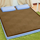 KOTAS 吸濕排汗+沁涼紙纖10CM記憶床墊(雙人)