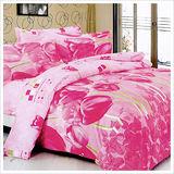 【精靈工廠】浪漫無比雙人四件式涼被床包組