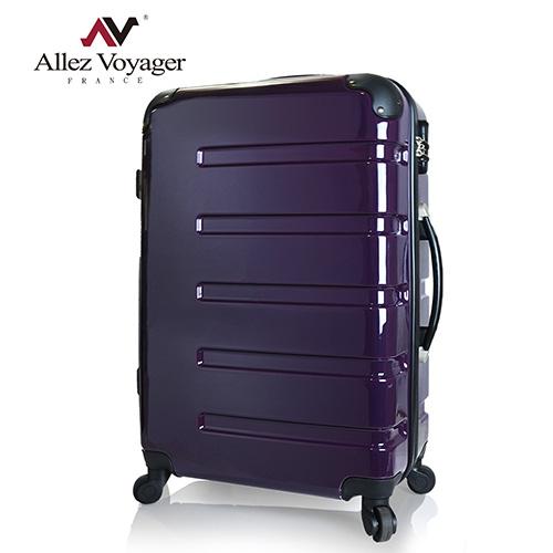 【法國 奧莉薇閣】24吋風華絕色PC鏡面 輕量旅行箱/行線上 購物李箱