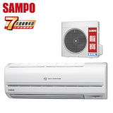SAMPO聲寶 6-8坪一對一變頻單冷分離式冷氣(AM-QH36D/AU-QH36D)送安裝★七年保固