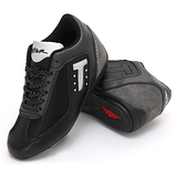 【T2R】浪漫繁星真皮隱形氣墊增高鞋(黑、銀) ↑7cm 5600-0017.18