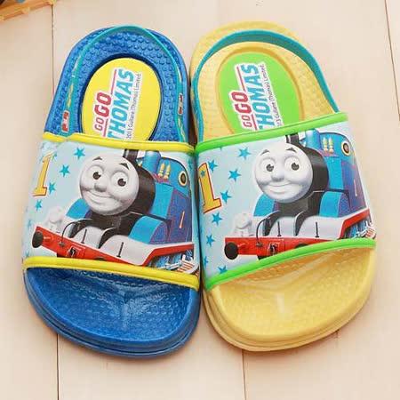 【童鞋城堡】湯瑪士後帶學步拖鞋{台灣製造}TH1555