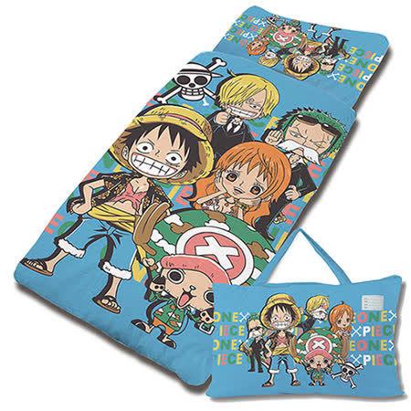 【享夢城堡】航海王 友誼之光系列-鋪棉兩用兒童睡袋