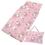 【享夢城堡】HELLO KITTY我的小熊系列-兒童睡袋