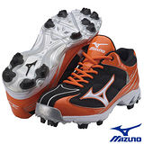 Mizuno 9 SPIKE BLAZE ELITE3 棒壘球鞋 (橘)