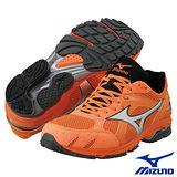 Mizuno WAVE AMLULET3 男用路跑鞋(橘)8KS-22703