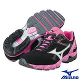 Mizuno WAVE AERO11 女用慢跑鞋(黑)8KN-23303