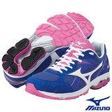 Mizuno WAVE AMULET3 女用路跑鞋(紫)8KS-22601