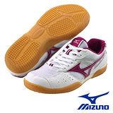 (女)Mizuno CROSS 桌球鞋 18KM-12568(紫)