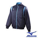 Mizuno 棒球夾克 52WM-29714(深丈青*粉天藍)