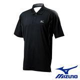 【Mizuno】男款短袖 POLO 衫 56HG-29309 黑