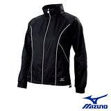 【Mizuno】女平織運動外套 58JL-16109(黑)