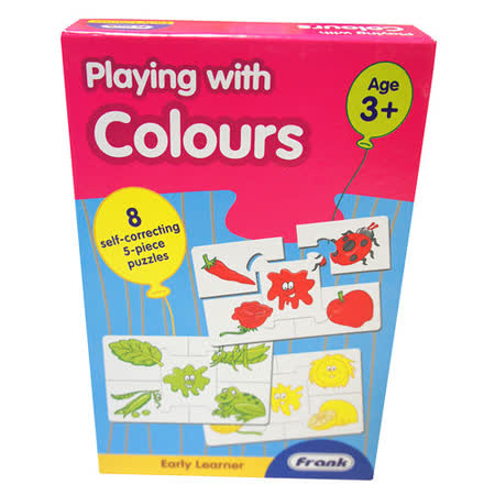 【Frank】Frank 全腦開發 EARLY LEARNER 小小學習者系列-顏色遊戲